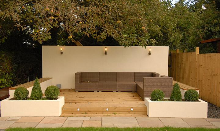 Nice Garden Seating Area ...