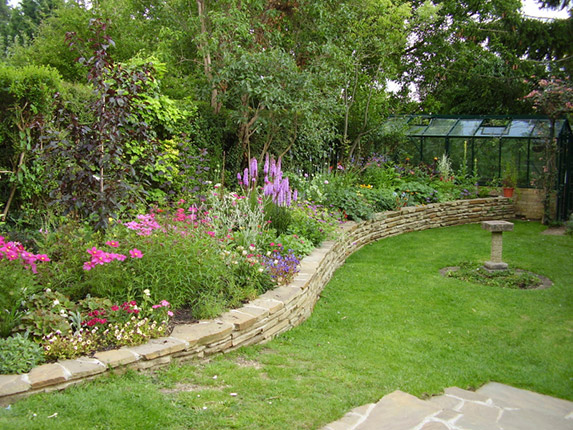 garden design garden design with how to grow a cottage garden, Natural flower