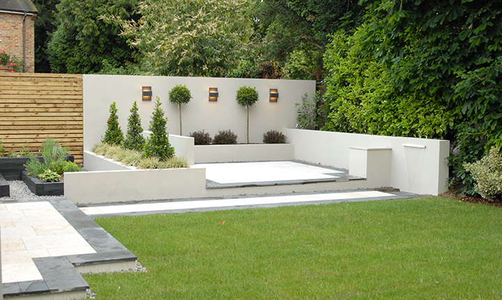 Modern herb garden home design ideas and pictures for Contemporary gardens